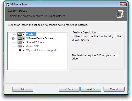 Cài đặt VMware Tools cho máy ảo CentOS 5 trên VMware Workstation