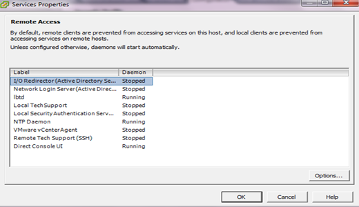 TSM (Local Support Mode) và SSH (Remote Tech Support) trên VMWare ESXi