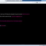 Thông báo của Hacker trên website vtc.com.vn